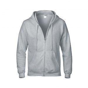 88600 – Gildan Adult Full Zip Hoodie