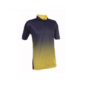 QD37 – 2 Tone Polo T-Shirt Interlock (Unisex)