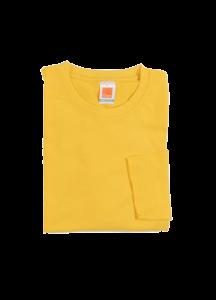 CT54 – Plain Cotton Round Neck Long Sleeve T-Shirt (Unisex)