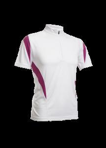 QD30 – 2 Tone Mesh Mock Neck Shirt (Unisex)