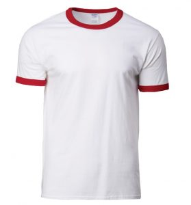 76600 – Gildan Cotton Ringer T-Shirt (Unisex)