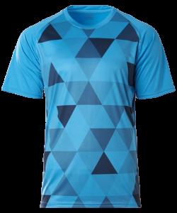 CRR1900- Crossrunner Trimosaic T-Shirt (Unisex)