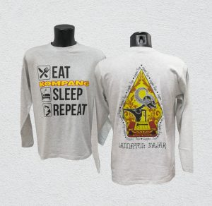 Cotton RN Long Sleeve with hybrid printing