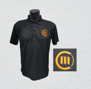 Drifit polo left chest embroidery A6