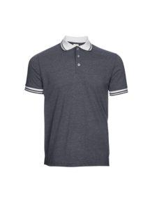 SJ08 – 2-Tone Cotton Polo T-Shirt (Unisex)