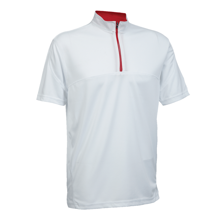 Mock Neck Polo Shirt QD18