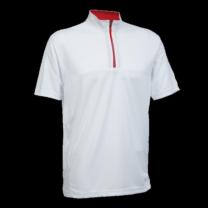 Mock Neck Polo Shirt QD18
