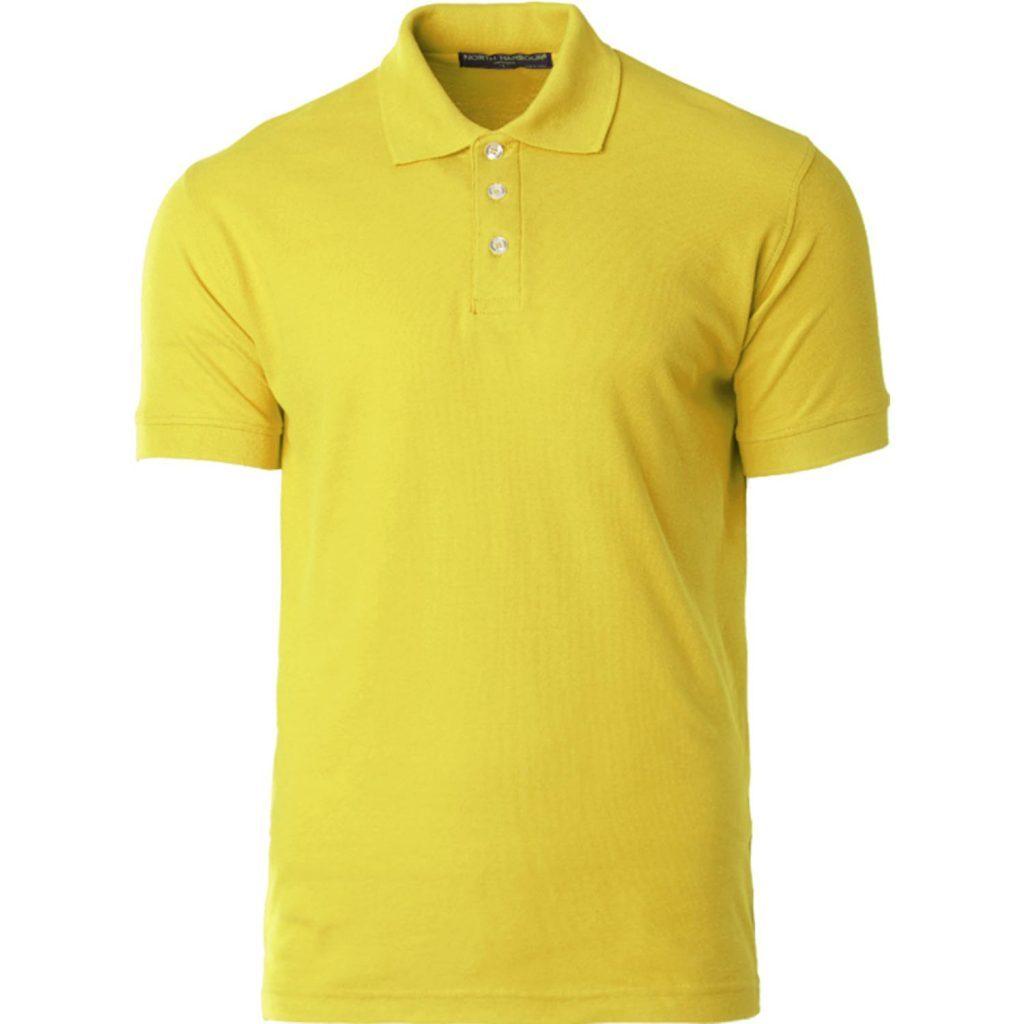 North Harbour Plain Polo Cotton T-Shirt